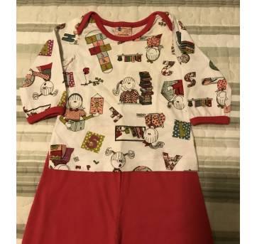 Pijama Feminino Sonhart - 3 a 6 meses - Sonhart