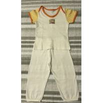 Pijama Sonhart Feminino - 3 a 6 meses - Sonhart