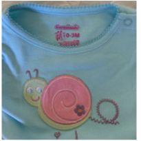 Body bebe feminino - 0 a 3 meses - Garanimals