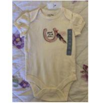 Body bebe feminino Gap - 3 a 6 meses - Baby Gap