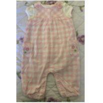 Jardineira com blusa bebe - 3 a 6 meses - Child of Mine