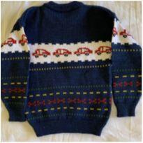 Blusa em tricot masculino - 4 anos - Sem marca