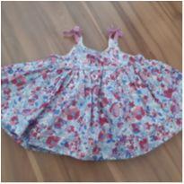 Vestido florido GAP - 3 a 6 meses - Baby Gap