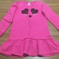 Vestido rosa pink - 4 anos - Criativa