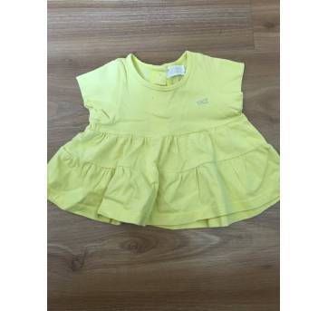 Blusinha amarela - 6 a 9 meses - YKZ