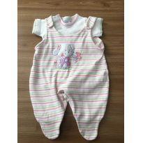 Macacão de bebê - 3 a 6 meses - Bebê Precioso