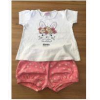 Conjuntinho coelhinho - 9 a 12 meses - Baby Way