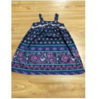Vestido Hippie - 2 anos - Póim