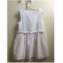 Vestido Branco - 4 anos - YKZ