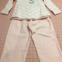 Pijama Nuvem - 18 meses - Sem marca