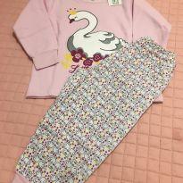Pijama Flamingo - Tam 3 - 3 anos - Gaga Baby