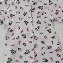 Macacão de Pandinhas - 0 a 3 meses - LUIZINHO BABY