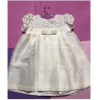 Vestido Batizado Flaury - 9 a 12 meses - Barbie