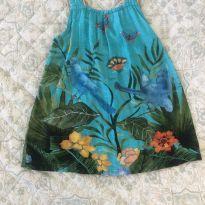Vestido Papagaio Azul | Fábula - 2 anos - Fábula