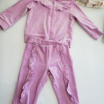 Conjunto calça e blusa - 6 a 9 meses - Importada
