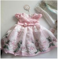 Vestido de festa - 9 a 12 meses - petit bebe