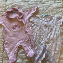 Body Tyrol Rosa, 0-3 meses - 0 a 3 meses - Tyrol