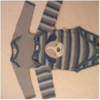 Body manga longa kit 2 unidades - 0 a 3 meses - Child of Mine