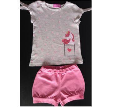 Conjuntinho Boulevard Baby - 9 a 12 meses - 9 a 12 meses - Boulevard Baby