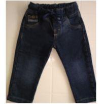 Linda Calça Jeans com elastano ARTCLR - Tam G - 6 a 9 meses - Artcolare