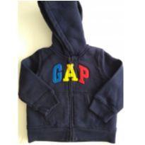 Casaco de moletom GAP forrado - 18 a 24 meses - GAP