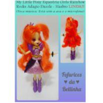 MY LITTLE PONY EQUESTRIA GIRLS RAINBOW ROCKS ADAGIO DAZZLE - HASBRO -  - Hasbro