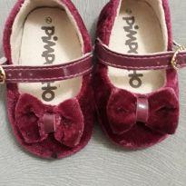 Sapatinho para Bebê - Marsala - 13 - Pimpolho