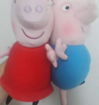 Peppa Pig e Jorge - Sem faixa etaria - Importado