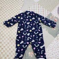 Macacão Pijama Zoo Kids Neve - 0 a 3 meses - Tip Top