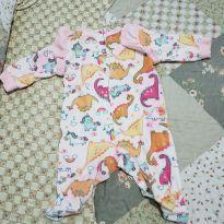 Macacão pijama tip top - 3 meses - Tip Top
