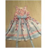 Vestido de festa florido - 4 anos - Petit Cherie