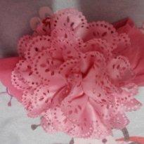 Faixa para cabelo menina rosa - Sem faixa etaria - Não informada