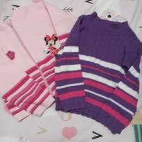 Lote blusa lã duas pecas - 2 anos - Não informada ( Replica)