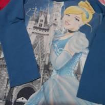 Lote com duas blusas manga longa tamanho 02 - 2 anos - Disney