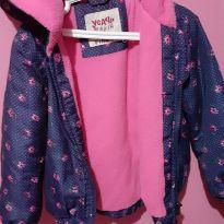 Jaqueta forrada menina - 4 anos - Não informada