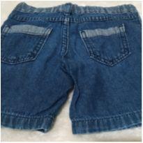 Bermuda jeans - 9 a 12 meses - Teddy Boom