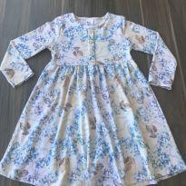 Vestido Floral - 4 anos - Pulla Bulla