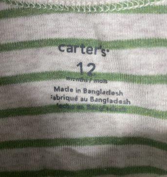 Kit Carter's - 1 ano - Carter`s