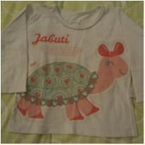 Pijama infantil menina Jabuti - Cara de Criança - 1 ano - Cara de Criança