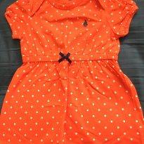 Vestido vermelho de bolinhas Carter