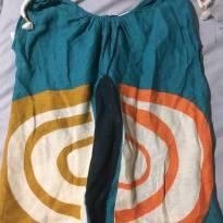 Vestido azul borboleta da fábula 2 anos - 2 anos - Fábula