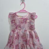 Vestido Luxo para bebê - 3 meses - Vigat for girls