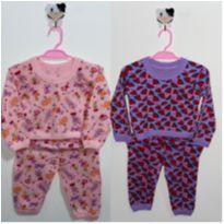Pijamas divertidos - 0 a 3 meses - Feira da gestante e bebê
