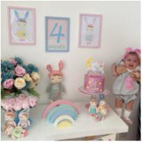 Linda Fantasia Mesversário/ Mensário Metoo Doll - 3 a 6 meses - Joaninha Baby