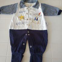 Macaquinho Cowboy - 6 meses - Aconchego do Bebê