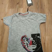 Camiseta manga curta Tigor tamanho 2, nova, com etiqueta - 2 anos - Tigor T.  Tigre