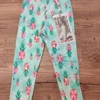 Calça Legging Lilica, Tam GB (9 a 12 meses), nova com etiqueta - 9 a 12 meses - Lilica Ripilica