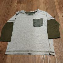 Camiseta manga longa tam 1 - 1 ano - Póim