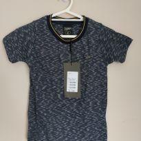 Camiseta manga curta Tigor tamanho 4, nova com etiqueta - 4 anos - Tigor T.  Tigre