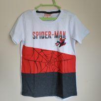 Camiseta manga curta homem aranha, tam 3, nova - 3 anos - MARVEL